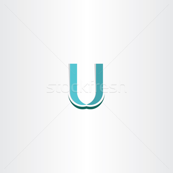 letter u logo vector icon Stock photo © blaskorizov