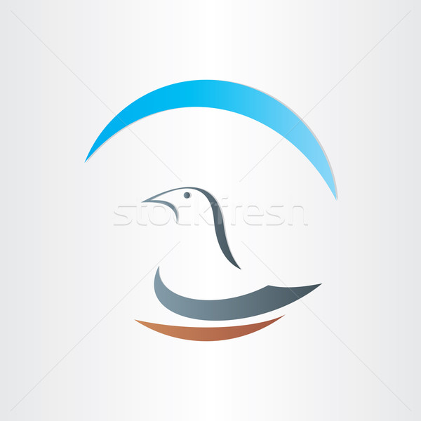 dove freedom symbol abstract design Stock photo © blaskorizov