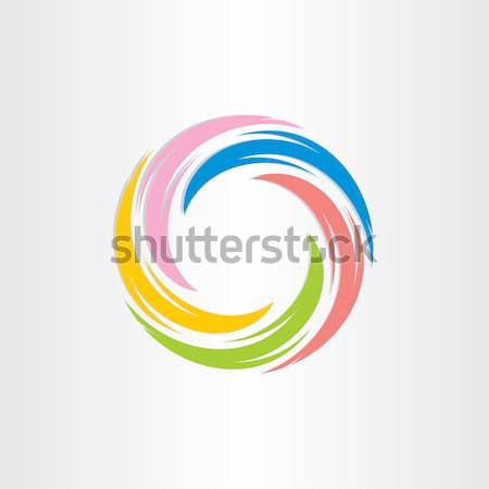 color tornado spiral abstract background Stock photo © blaskorizov