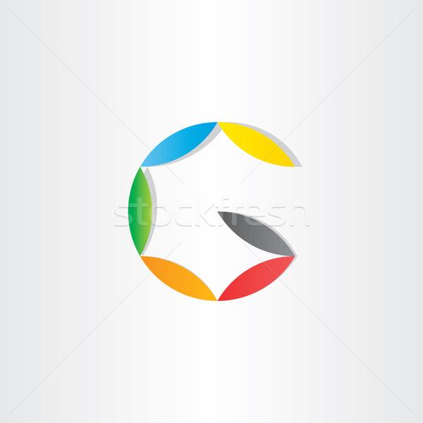 letter g colorfull symbol Stock photo © blaskorizov