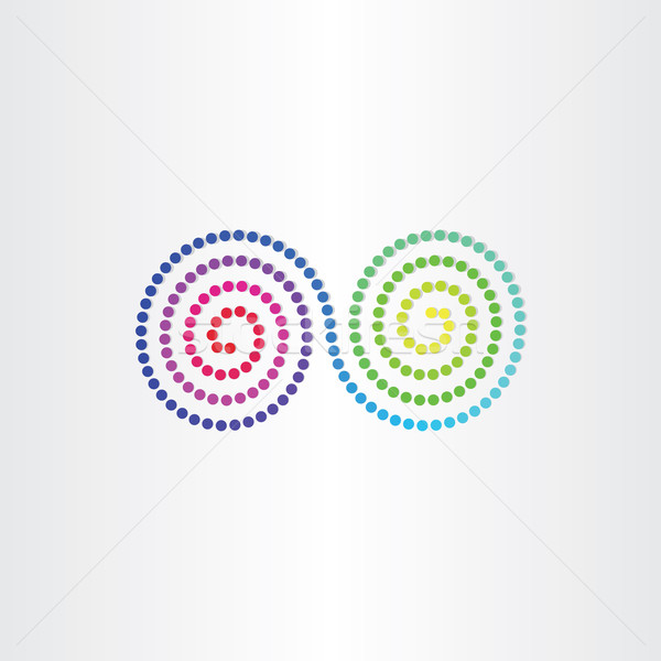 Oneindigheid kleur spectrum symbool ontwerp achtergrond Stockfoto © blaskorizov