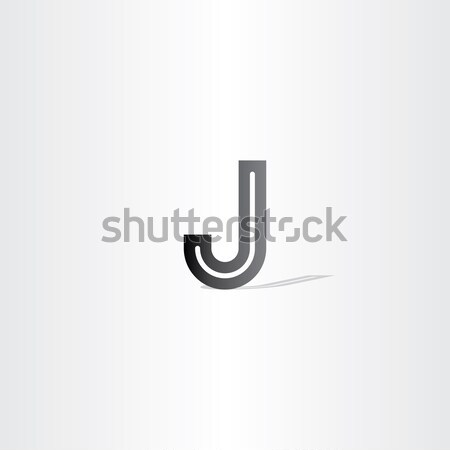black letter j logo design element Stock photo © blaskorizov