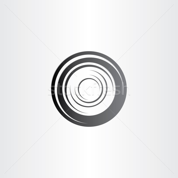 car wheel symbol design Stock photo © blaskorizov