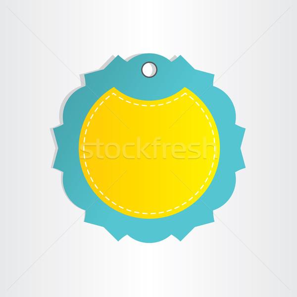 text box abstract decorative keyring design Stock photo © blaskorizov