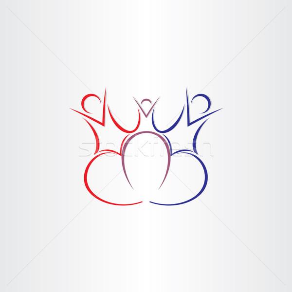 Család szeretet szimbólum terv emberek nő Stock fotó © blaskorizov