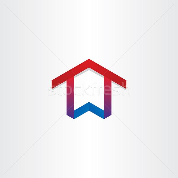 house home real estate icon Stock photo © blaskorizov
