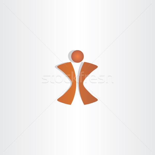 man letter x logo design Stock photo © blaskorizov