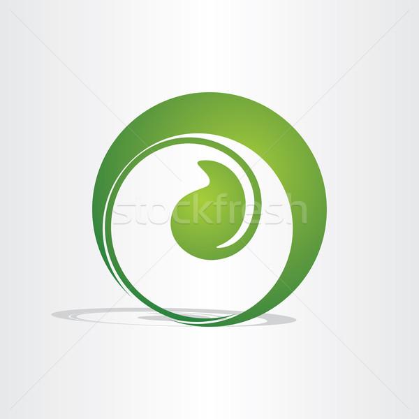 Planta nascimento crescente eco projeto verde Foto stock © blaskorizov