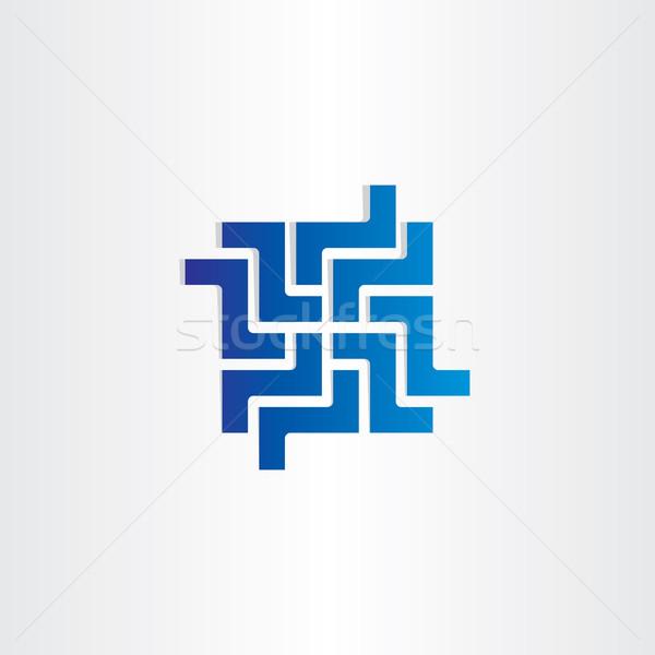 デジタル ネットワーク ビジネス ウェブのアイコン デザイン 抽象的な ストックフォト © blaskorizov