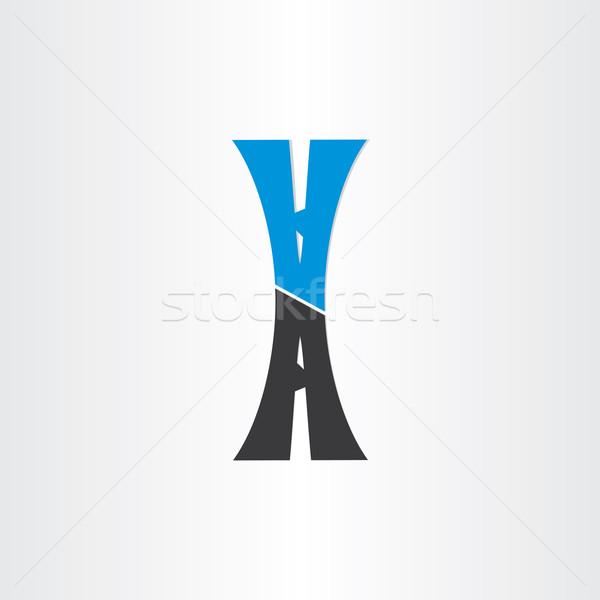Carta carretera icono diseno calle Foto stock © blaskorizov
