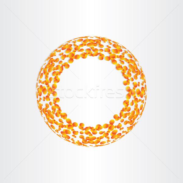 abstract circle background fusion energy Stock photo © blaskorizov