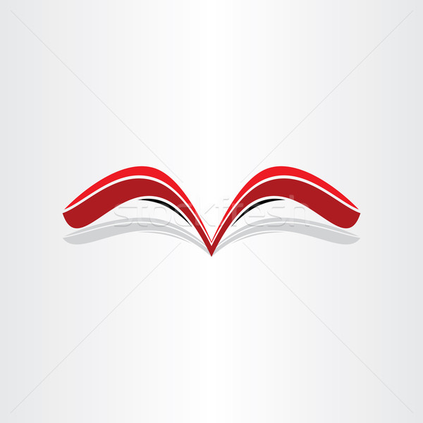 red book abstract stylized design Stock photo © blaskorizov