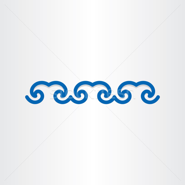 water waves abstract design Stock photo © blaskorizov