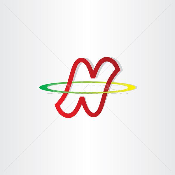 letter n neutron symbol Stock photo © blaskorizov