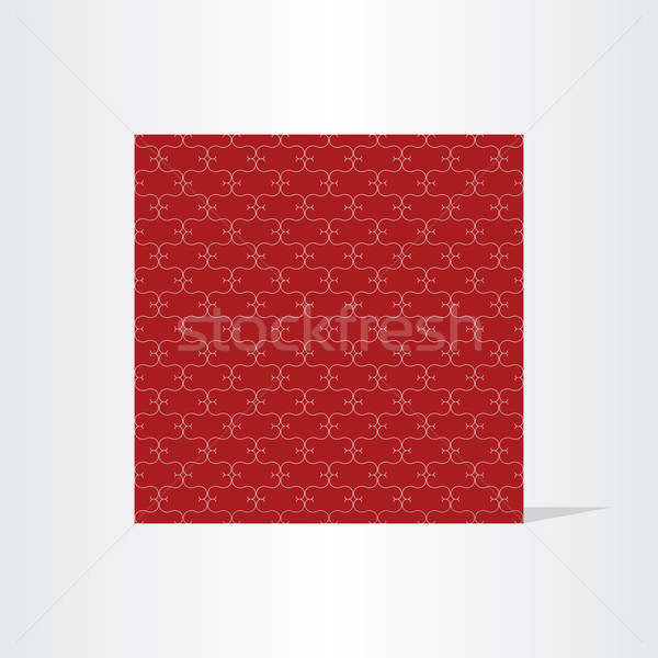 Oscuro rojo sin costura textura diseno tecnología Foto stock © blaskorizov