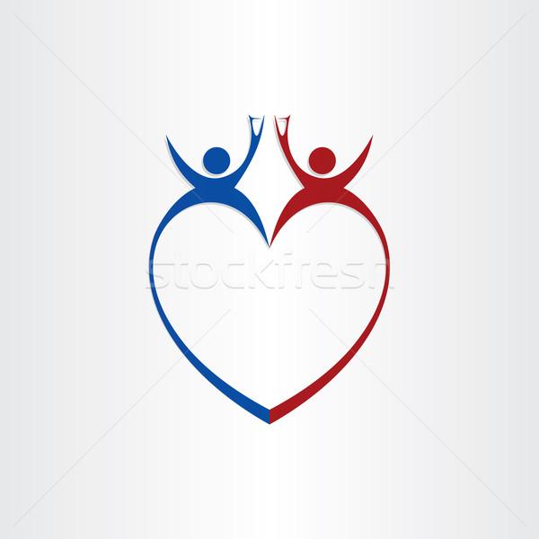 couple wedding love cheers celebration symbol Stock photo © blaskorizov