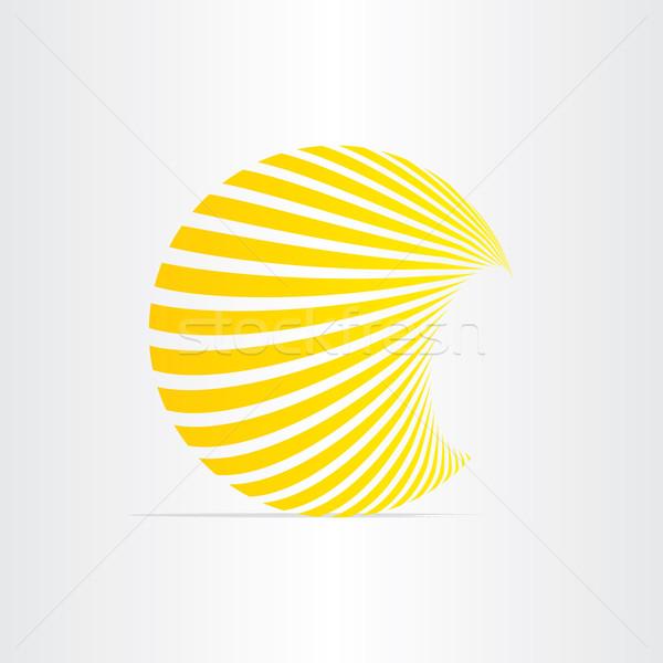 Stock fotó: Nap · energia · nap · ikon · terv · naplemente