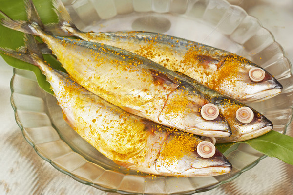 Hint deniz ürünleri Asya yemek deniz Stok fotoğraf © blinztree