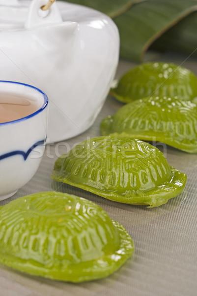 Pandan Ang Ku -  tortoise cakes Stock photo © blinztree