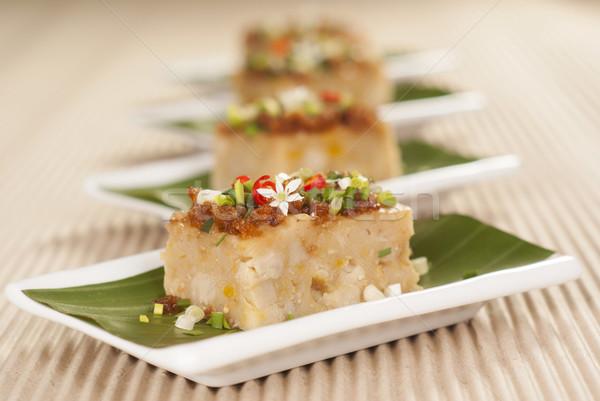 Lezzetli kabak kek muz Asya Stok fotoğraf © blinztree