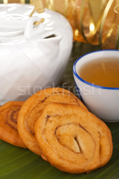 Savory Chinese Fried Crullers Stock photo © blinztree
