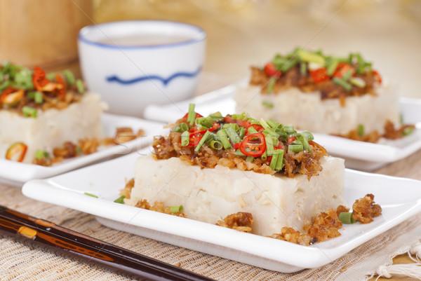 Santoreggia torta popolare asian cinese pasto Foto d'archivio © blinztree