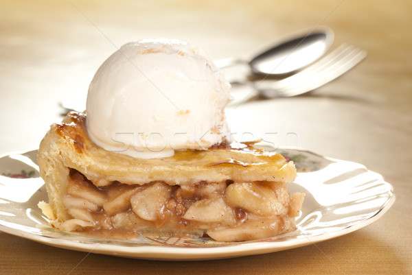 Apple Pie Ala Mode Stock photo © blinztree