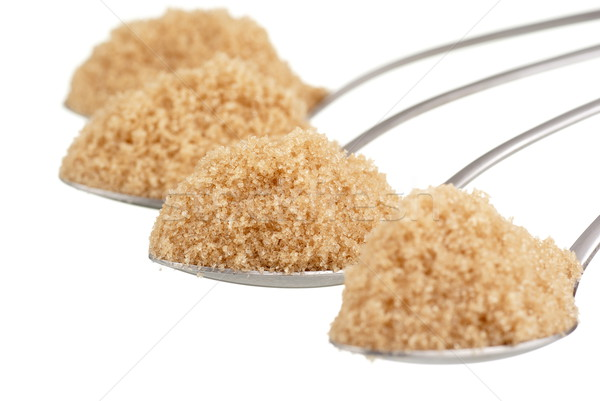 Spoonfuls of Brown Sugar Stock photo © blinztree