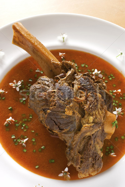 Braised Curried Lamb Shank Stock photo © blinztree