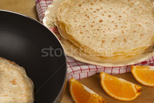 Güzel basit gıda tatlı yemek geleneksel Stok fotoğraf © blinztree