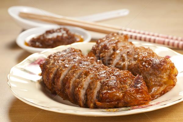 Сток-фото: пять · Spice · свинина · пряный · продовольствие
