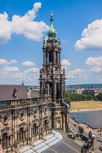 panorama of Dresden, Germany Stock photo © bloodua