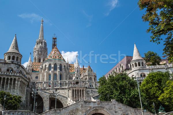 Węgry Budapeszt bastion jeden gruntów 24 Zdjęcia stock © bloodua