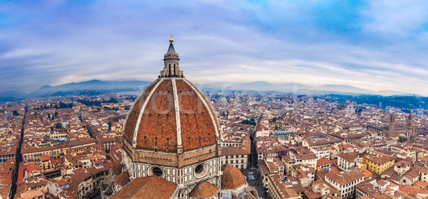Stock photo: Cathedral Santa Maria del Fiore in Florence, Italy