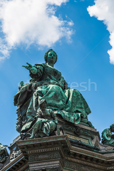 Monument of the famous monarch Maria Theresia of Habsburg(Vienna Stock photo © bloodua
