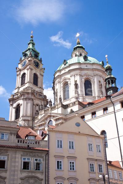 Сток-фото: Прага · город · один · красивой · Европа · улице