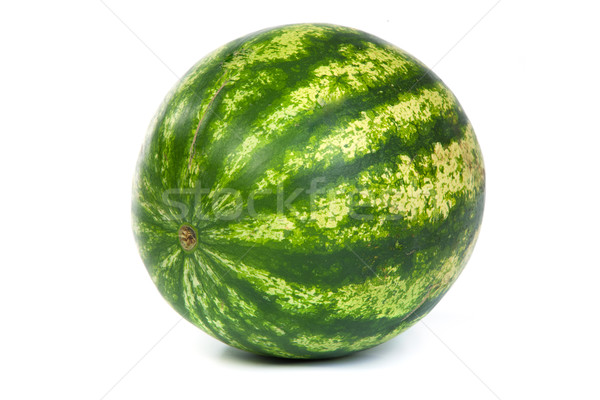 Fresh, ripe, juicy watermelon. Shot on White Stock photo © bloodua