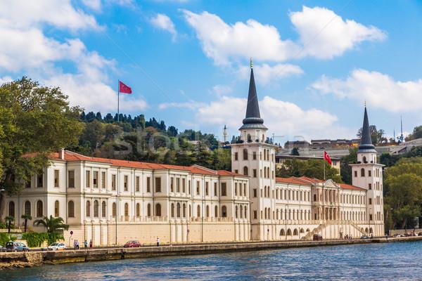 Wojskowych liceum istanbul szkoły charakter morza Zdjęcia stock © bloodua