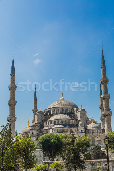 The Blue Mosque, (Sultanahmet Camii), Istanbul, Turkey Stock photo © bloodua