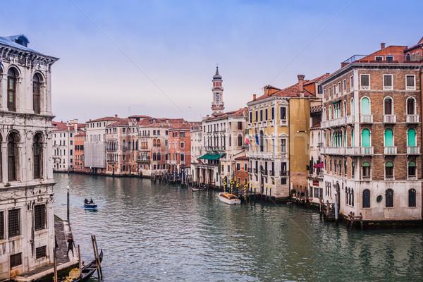 канал Венеция Италия красивой воды улице Сток-фото © bloodua