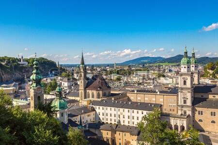 Budapest Royal Palace morning view. Stock photo © bloodua