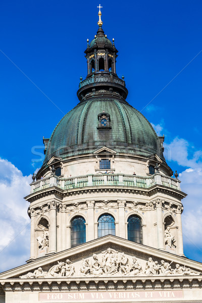 Stock photo: St. Stephen's Basilica, the largest church in Budapest, Hungary