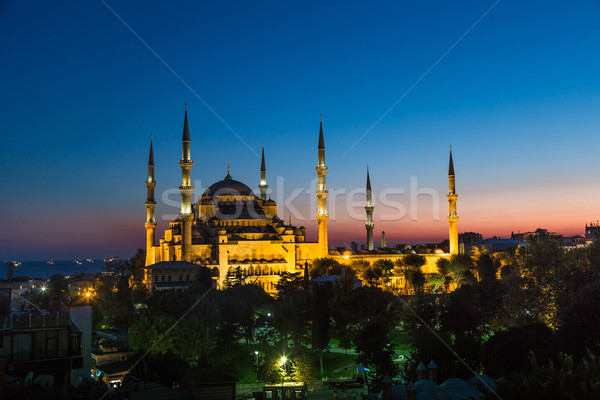 Stock photo: The Blue Mosque, Istanbul, Turkey
