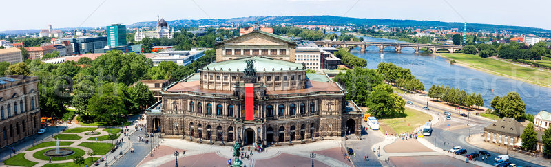 Semper Opera House, Dresden, Germany Stock photo © bloodua