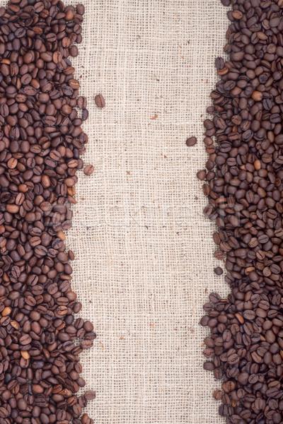 Stockfoto: Bruin · koffiebonen · shot · studio · chocolade