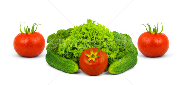 Low-calorie raw vegetables Stock photo © bloodua