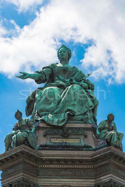 известный Вена Австрия Европа год небе Сток-фото © bloodua