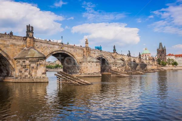 Charles bridge in Prague Stock photo © bloodua