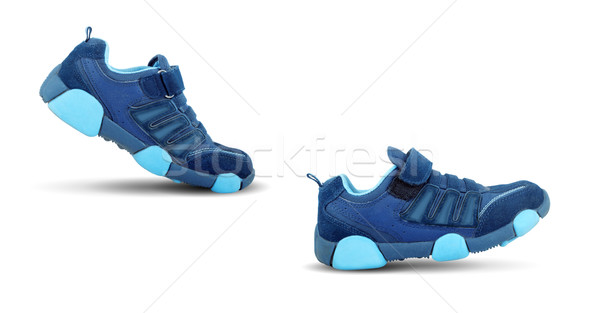 Sneakers walking by themselves Stock photo © bloodua
