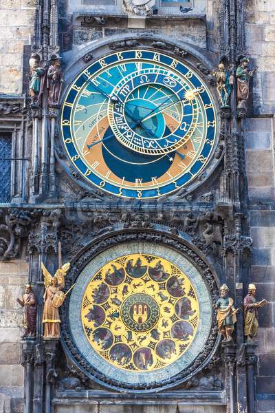 Astronomical Clock. Prague. Czech Republic Stock photo © bloodua